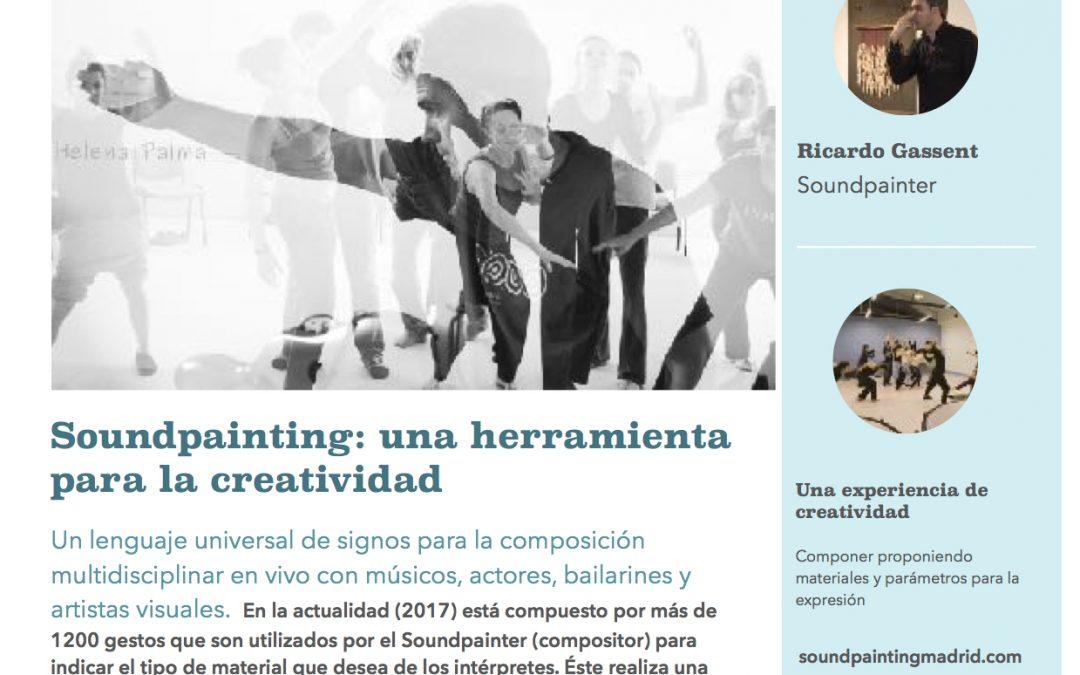 SOUNDPAINTING EN LA UNIVERSIDAD AUTÓNOMA DE MADRID 12./19./26.04.2018